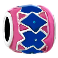 Charms Beads - pugster?  pink blue irregular gift fit beads charms bracelets all brands Image.