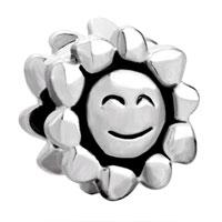 Charms Beads - sun smile european bead charm bracelet european bead charm bracelet Image.