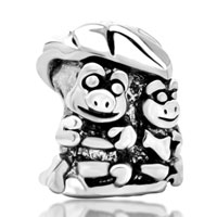 Charms Beads - frogs leaf european bead charms bracelets fit all brands bracelets Image.