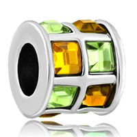 New Arrivals - topaz yellow green elements crystal tiles drum lucky charm bracelets Image.