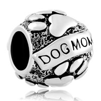 Mother Daughter Charms Dog Charm Bracelet Mom On Puppy Dog Charm
