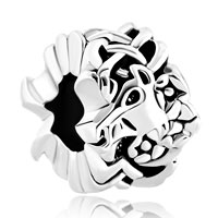 Charms Beads - silver plated celtic knitting unicorn animal charms for bracelets Image.