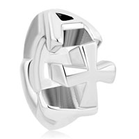 New Arrivals - silver plated cross for beads charms bracelets fit all brands Image.