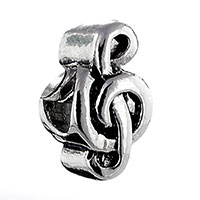 Charms Beads - silver currency symbol european infant charm bead charms bracelets Image.