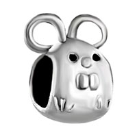 Charms Beads - little cute mouse animal fit all brands beads charms bracelets Image.