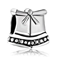 Charms Beads - silver plated little lovely box european bead charms bracelets Image.