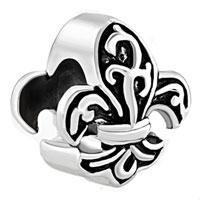 Charms Beads - fleur de lis charm bracelet france flower bead charms bracelets Image.