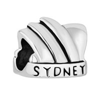Charms Beads - new australia sydney opera house silver/ p beads charms bracelets fit all brands Image.
