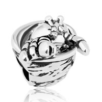 Charms Beads - new silver plated hermit crabs animal for beads charms bracelets fit all brands Image.