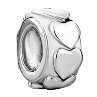 Charms Beads - heart charm bracelets charm european bead fit all brands bracelets Image.