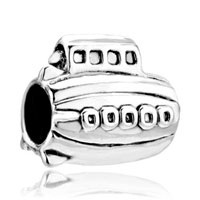 Charms Beads - silver plated jewelry cruise ship european bead charms bracelets Image.