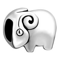 Charms Beads - silver jewelry cute ram european infant charm bead charms bracelets Image.