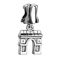 Charms Beads - flower arc de triomphe fit all brands dangle european beads Image.