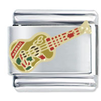 Italian Charms - hawaiian guitar italian charms Image.
