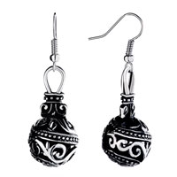 Earrings - ball dangle filigree vintage fish hook earrings for women Image.