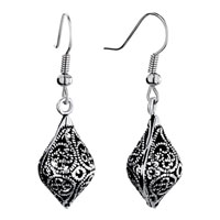 Earrings - drop filigree antique dangle fish hook earrings for fashion women Image.