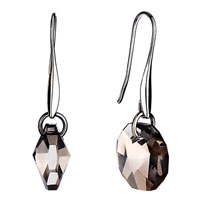 Earrings - elegant pale dangle crystal earrings jewelry fashion november Image.