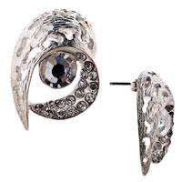 Earrings - irregular little pieces crystal stud earrings Image.