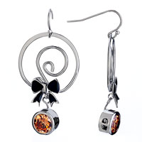 Earrings - cute candy topaz crystal dangle earrings gift Image.