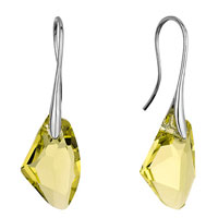 Earrings - mothers day gifts classic jonquil swarovski crystal crystal galactic drop focal dangle earrings Image.