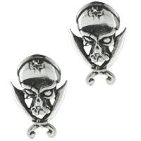Earrings - sterling silver vivid pirates sword earring stud earrings Image.