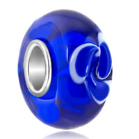Charms Beads - jewelry blue fit murano glass beads charms bracelets all brands Image.