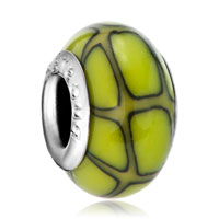 Green Citrine Yellow Fusion Polymer Clay Fit All Brands Beads Charms Bracelets