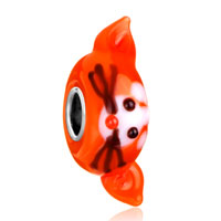 Charms Beads - cute mouse rat ruby red animal fit all brands murano glass beads charms bracelets Image.