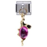 Italian Charms - july birthstone mouse dangle italian charm bracelets Image.