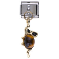 Italian Charms - november birthstone mouse dangle italian charm bracelets Image.