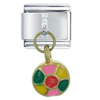 Italian Charms - color wheel italian charms dangle italian charm Image.