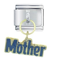Italian Charms - mother italian charms dangle italian charm Image.