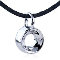 Necklace & Pendants - round circle stainless steel pendants gift necklace Image.