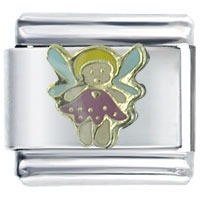 Italian Charms - cute little fairy gift italian charm Image.