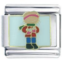 Italian Charms - boy gift italian charm Image.