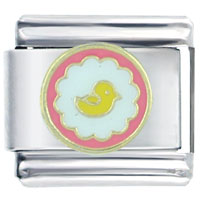 Italian Charms - baby duckling italian charms Image.