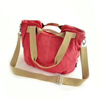 KSEB SHEB Items - fashion women lady satchel pink canvas tote handbag shoulder messenger hobo bags Image.