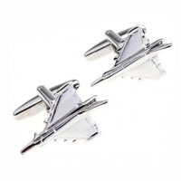 KSEB SHEB Items - hot 316 l surgical steel novelty airplane cufflinks for men' s suit Image.