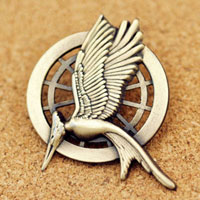 New Mockingjay Pin Bronze Fashion Brooches Pin Clothes Accessories