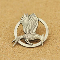 New Mockingjay Bird Bronze Pin Badge Brooch Brooches Pin Clothes Accessories