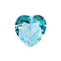 KSEB SHEB Items - charms march heart birthstone floating charms for memory living locket Image.