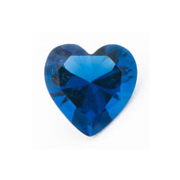 KSEB SHEB Items - floating charms september heart birthstone for living memory locket Image.