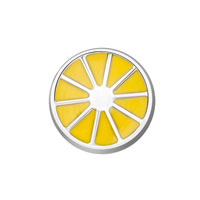 KSEB SHEB Items - charms lemon slice floating charms fit living memory locket Image.