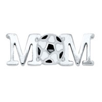 KSEB SHEB Items - floating charms soccer great gift for love mom charms fit living memory locket Image.