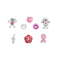 Floating Charms - sale new 8  pcs floating charms for glass living memory lockets necklace &  bracelets Image.