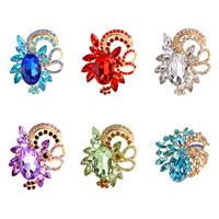New Vintage Rhinestone Crystal Wedding Bouquet Flower Brooch Pin