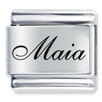 Italian Charms - edwardian script font name maia italian charms laser italian charm Image.
