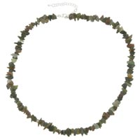 Necklace & Pendants - chip stone necklaces genuine gemstone nugget chips stretch indian agate necklaces Image.