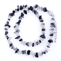 Necklace & Pendants - chip stone necklaces genuine ultra semi precious gemstone nugget chips stretch necklace Image.
