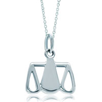 Necklace & Pendants - 925  sterling silver libra horoscope zodiac sign link charm for charms bracelet &  pendant necklace zodiac pendant Image.